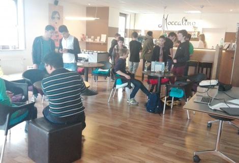 JML- Die JugendMedienLounge im Café Moccalino