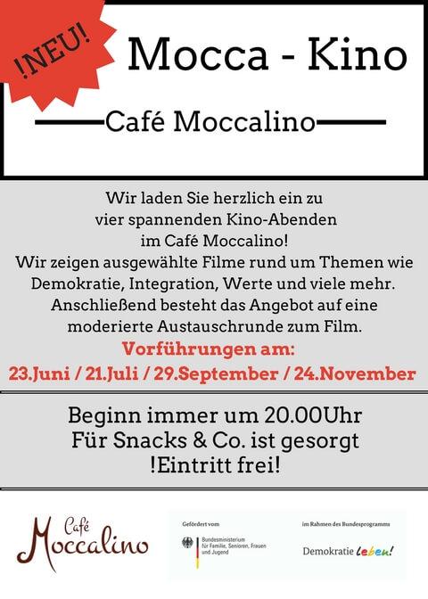 Einladung zum Mocca-Kino